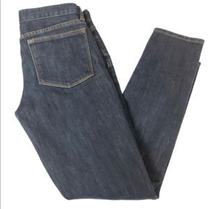 J. Crew Toothpick Ankle Dark Denim Jeans - 239